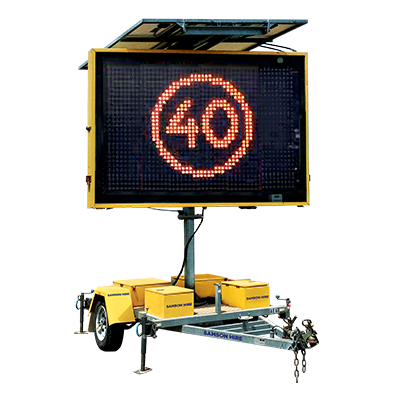 Speed Advisory Signs