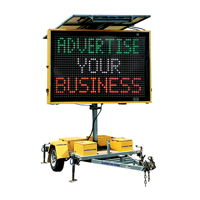 Large Color Advertising Signs