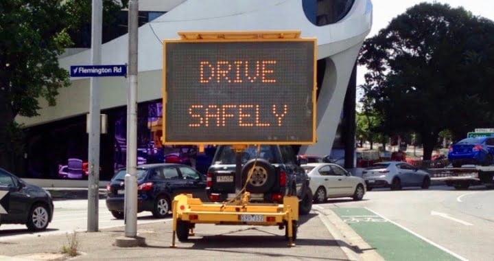 Drive safely city