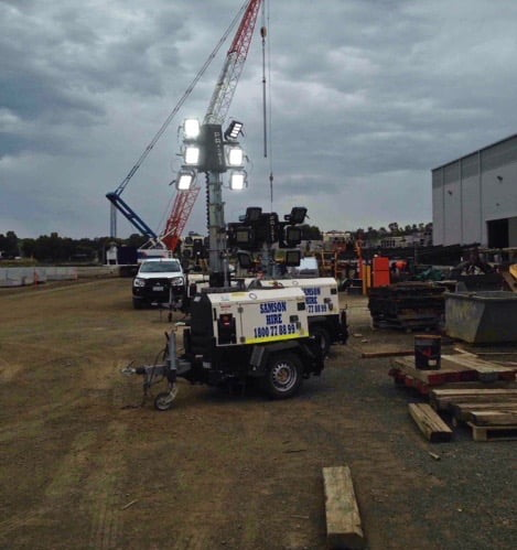 How to Use Light Towers Effectively on Your Construction Site