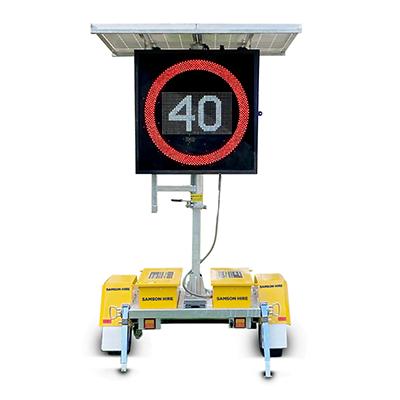 Variable Speed Limit Signs (VSLS)
